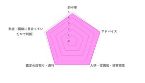 キララ先生の評価レーダーチャート